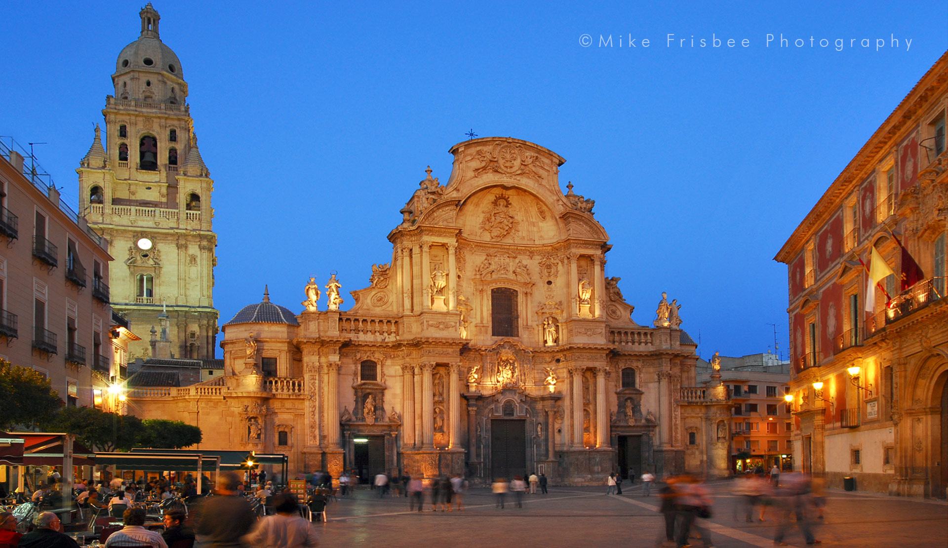 The Cathedral Church of Saint Mary in Murcia (Spanish: Iglesia Catedral de Santa María en Murcia), commonly called the Cathedral of Murcia.