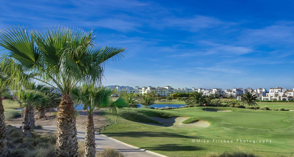 View across the golf course at La Torre Golf Resort.