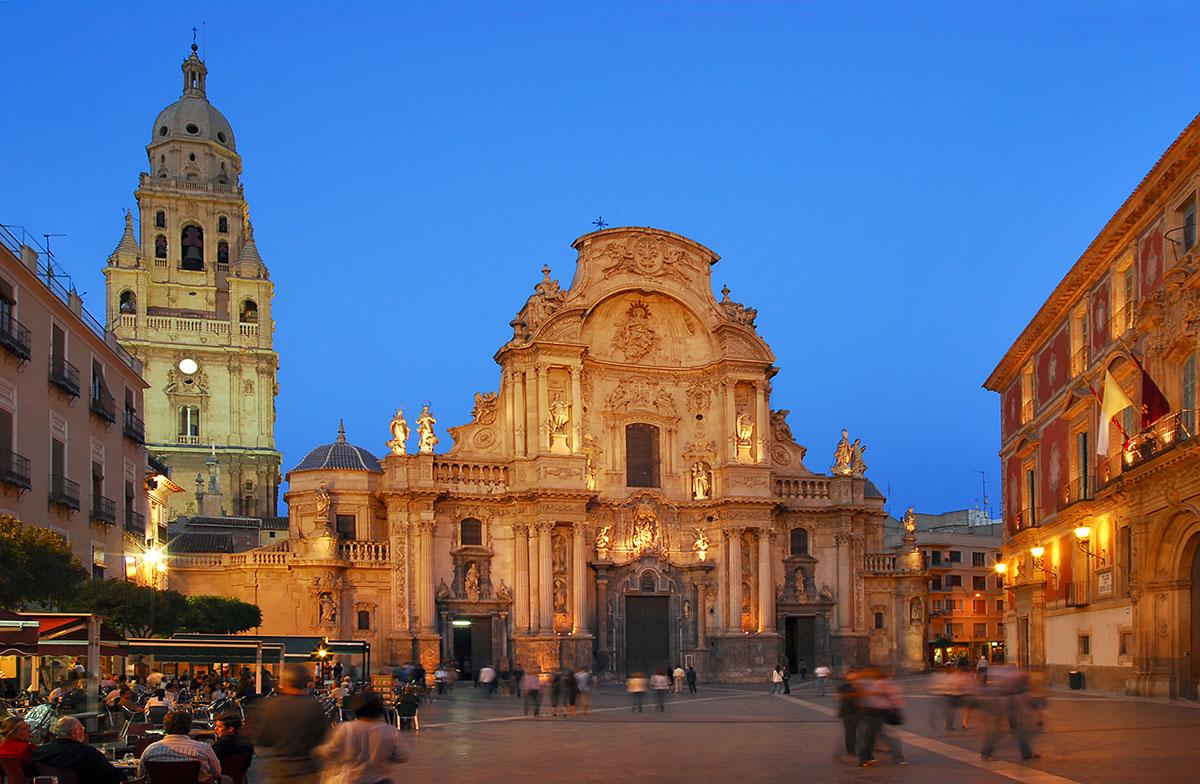 Murcia Cathedral - La Santa Iglesia Catedral de Santa María.
